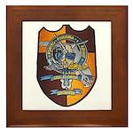 USS FLORIDA Framed Tile