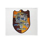 USS FLORIDA Throw Blanket