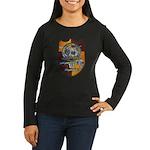 USS FLORIDA Women's Long Sleeve Dark T-Shirt