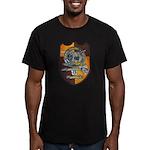 USS FLORIDA Men's Fitted T-Shirt (dark)