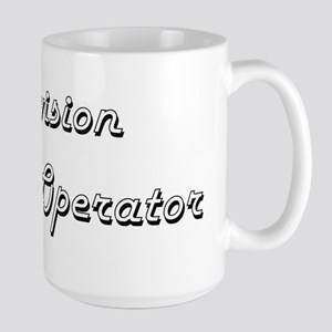 Television Camera Operator Classic Job Design Mugs