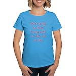 Keep Trying Women's Dark T-Shirt