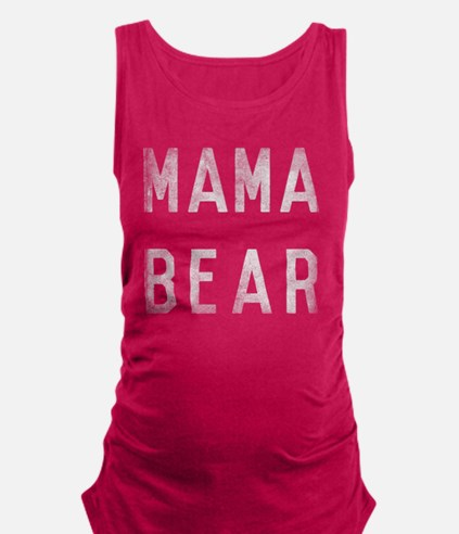 Mama Bear Maternity Tank Top