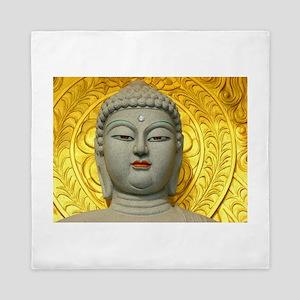 Enigmatic Buddha Queen Duvet