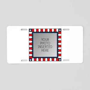American Show Aluminum License Plate