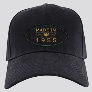 1955 Birth Year Black Cap
