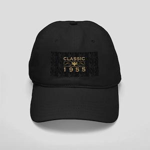 1955 Birth Year Black Cap