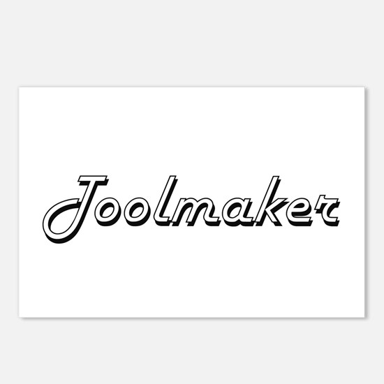 Toolmaker Classic Job Des Postcards (Package of 8)