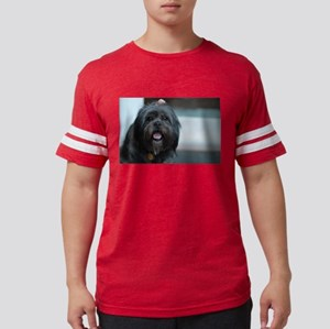 smiling lhasa type dog T-Shirt