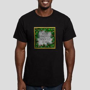 Xmas Stars Men's Fitted T-Shirt (dark)