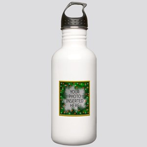 Xmas Stars Stainless Water Bottle 1.0L