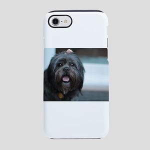 smiling lhasa type dog iPhone 7 Tough Case