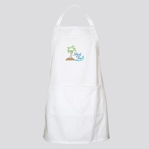 ISLAND TIME APPLIQUE Apron
