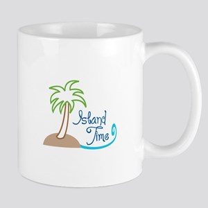 ISLAND TIME APPLIQUE Mugs