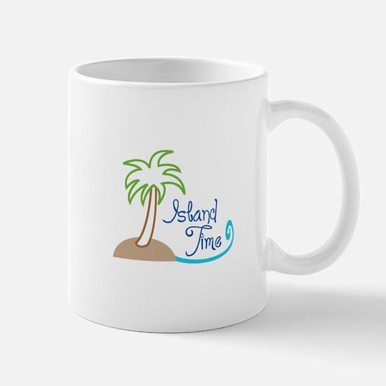 ISLAND TIME APPLIQUE Mugs