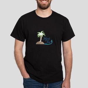 ISLAND TIME APPLIQUE T-Shirt