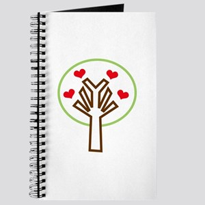 HEART TREE APPLIQUE Journal