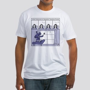 Descartes and the Fly Fitted T-Shirt