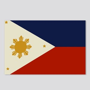 Flag of The Philippines Postcards (Package of 8)