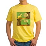 dog and cat Yellow T-Shirt