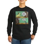 dog and cat Long Sleeve Dark T-Shirt
