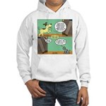 dog and cat Hooded Sweatshirt