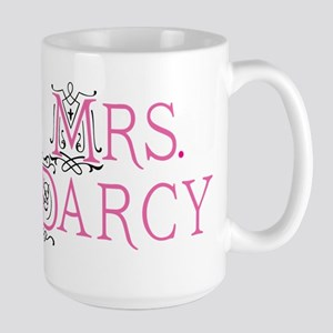 Mrs Darcy Jane Austen Large Mug Mugs