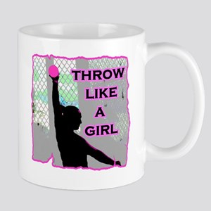 Throw like a Girl Mug