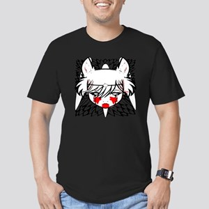 wolf princess Men's Fitted T-Shirt (dark)