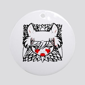 wolf princess Round Ornament