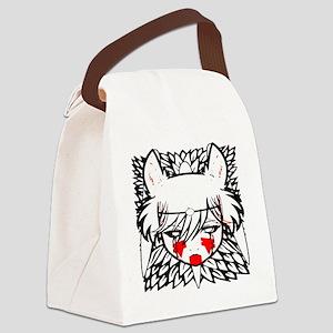 wolf princess Canvas Lunch Bag