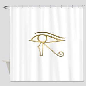 Eye of Horus Egyptian symbol Shower Curtain