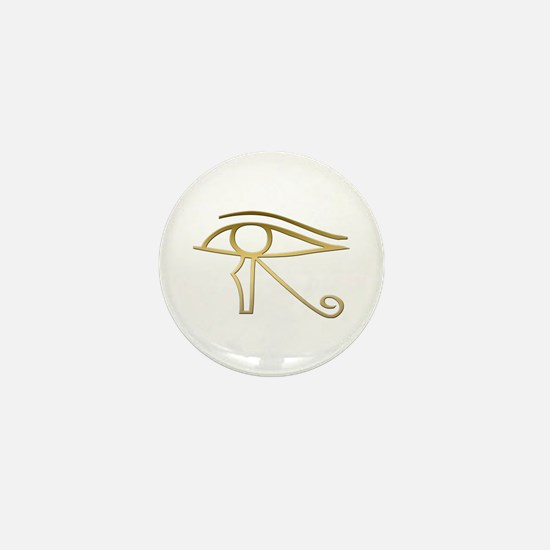Eye of Horus Egyptian symbol Mini Button