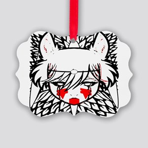 wolf princess Picture Ornament