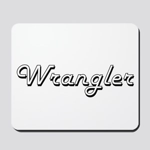 Wrangler Classic Job Design Mousepad