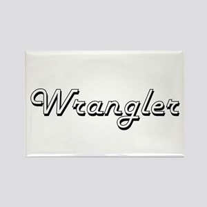 Wrangler Classic Job Design Magnets