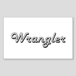 Wrangler Classic Job Design Sticker