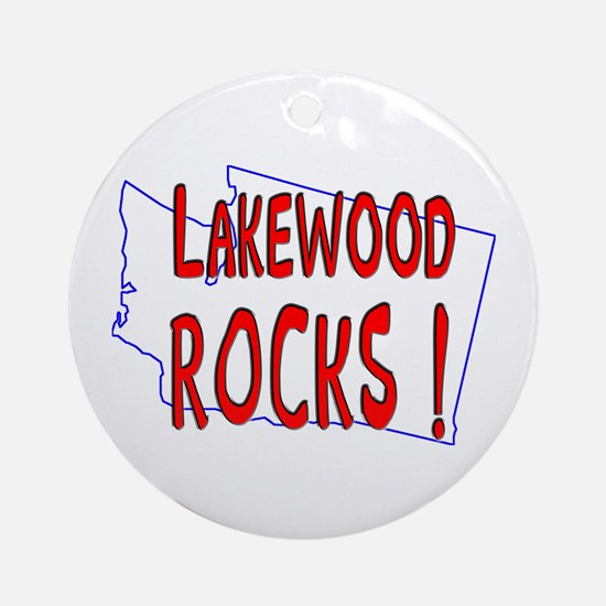 Lakewood Rocks ! Ornament (Round)