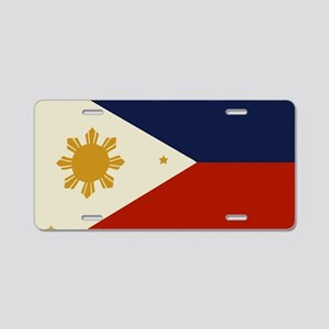 Flag of The Philippines Aluminum License Plate