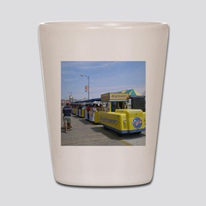 Watch the Tram Car  Shot Glass
