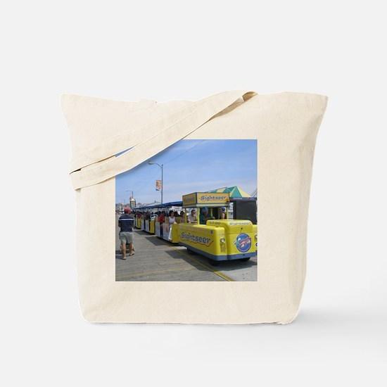 Watch the Tram Car  Tote Bag