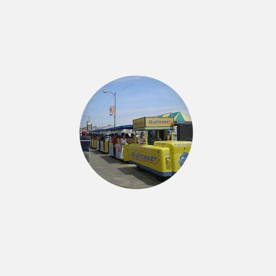 Watch the Tram Car  Mini Button