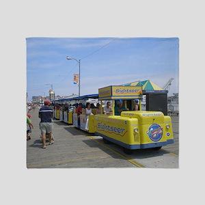 Watch the Tram Car  Throw Blanket