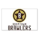 Boomtown Brawlers Sticker