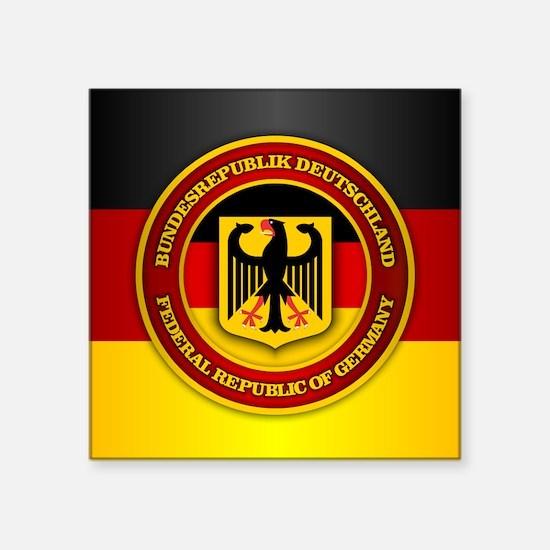 Deutschland Emblem Sticker