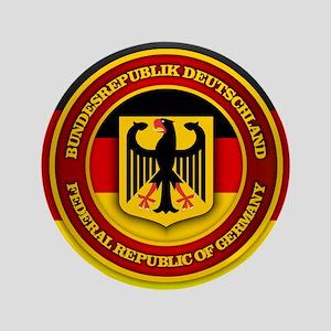 """Deutschland Emblem 3.5"""" Button"""