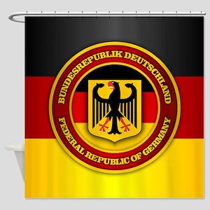 Deutschland Emblem Shower Curtain