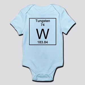 Periodic table tungsten baby clothes accessories cafepress tungsten body suit urtaz Image collections
