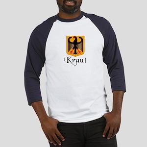 Kraut with Crest  Baseball Jersey