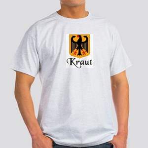 Kraut with Crest  Ash Grey T-Shirt